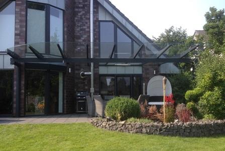 Glasdach Terasse die kunst wünsche zu realisieren glasdach und terrassendächer