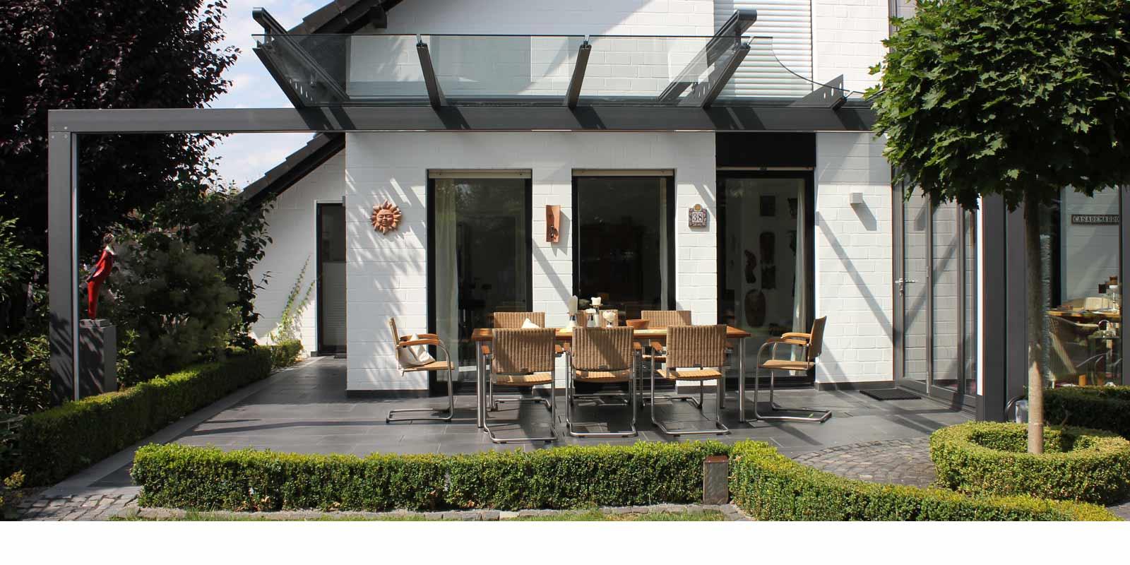 home glasdach und terrassend cher by gladius. Black Bedroom Furniture Sets. Home Design Ideas